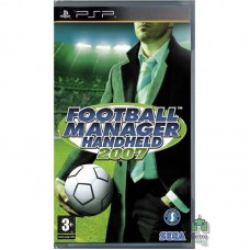 Football Manager Handheld 2007 PSP Б/У - интернет магазин Retromagaz