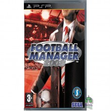 Football Manager Handheld 2008 PSP Б/У - интернет магазин Retromagaz