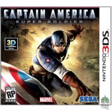 Captain America Super Soldat (E) (Только картридж) ENG оригинал  3DS Б/У - интернет магазин Retromagaz