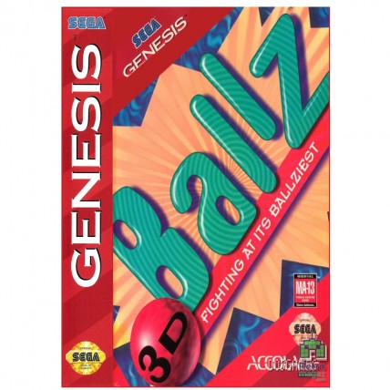 Ballz 3D Fighting at Its Ballziest Sega Mega Drive | USA - Original | Б/У