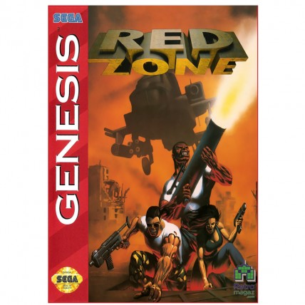 Red Zone Sega Mega Drive | USA - Original | Б/У