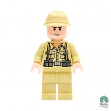 Lego Фигурка German Soldier 2 Немецкий солдат 7622 1 Оригинал Б\У О - интернет магазин Retromagaz