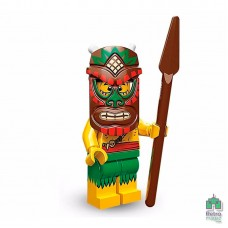 Lego Фигурка Series 11 Island Warrior Воин с Острова 1 Оригинал Б\У О - интернет магазин Retromagaz