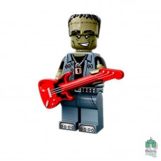 Lego Фигурка Series 14 12 Monster Rocker Монстр Рокер 1 Оригинал Б\У О - интернет магазин Retromagaz