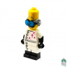 Lego Фигурка Series 14 3 Monster Scientist Ученый Монстр 2 Оригинал Б\У Х - интернет магазин Retromagaz