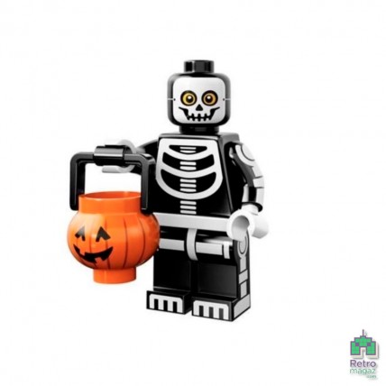 Series 14 - Lego Фигурка Series 14 11 Skeleton Guy Парень Скелет 1 Оригинал Б\У О