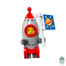 Lego Фигурка Series 17 13 Rocket Boy Мальчик-ракета Оригинал Новая - интернет магазин Retromagaz