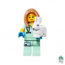 Lego Фигурка Series 17 5 Veterinarian Ветеринар Оригинал Новая - интернет магазин Retromagaz