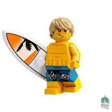 Lego Фигурка Series 2 Surfer Серфер 1 Оригинал Б\У О - интернет магазин Retromagaz