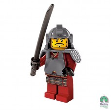 Lego Фигурка Series 3 Samurai Warrior Воин Самурай 1 Оригинал Б\У О - интернет магазин Retromagaz