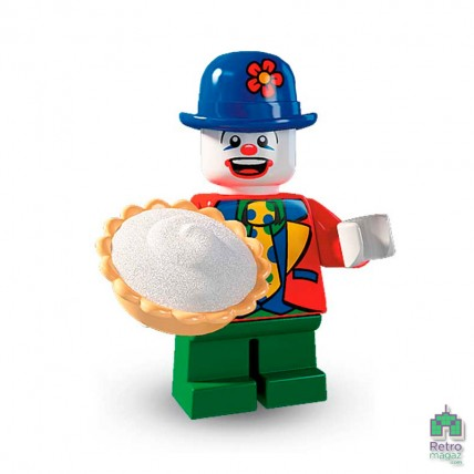 Series 5 - Lego Фигурка Series 5 Small Clown Маленький клоун 1 Оригинал Б\У О