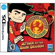 Картридж American Dragon Jake Long Attack of the Dark Dragon Nintendo DS | Без коробки Б/У