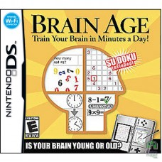 Картридж Brain Training Nintendo DS | Б/У