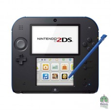 Nintendo 2DS Blue Black (PAL) Прошитая | Карта 8GB | Б/У