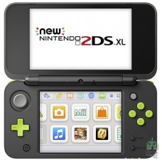 New Nintendo 2DS XL Black Lime Green + Mario Kart 7 (Установлена на приставку)