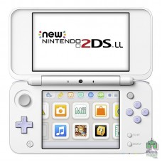 New Nintendo 2DS XL White Lavender + Tomodachi (Установлена на приставку)