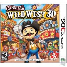 Картридж Carnival Games Wild West 3D Nintendo 3DS | (NTSC|USA) (Без коробки) Б/У  - интернет магазин Retromagaz