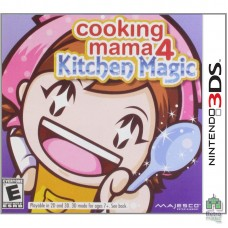 Картридж Cooking Mama 4 Kitchen Magic Nintendo 3DS | (NTSC|USA) (Без коробки) Б/У - интернет магазин Retromagaz