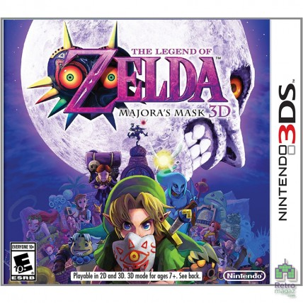 Игры Nintendo 3DS Б/У - Картридж Legend of Zelda Majora's Mask 3D Nintendo 3DS | (PAL)