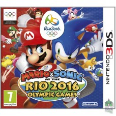 Mario & Sonic at the Rio 2016 Olympic Games (E) Русский Язык Оригинал Nintendo 3DS - интернет магазин Retromagaz