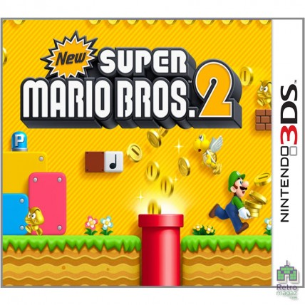 Игры Nintendo 3DS Б/У - Картридж New Super Mario Bros 2 | РУС Nintendo 3DS (PAL)