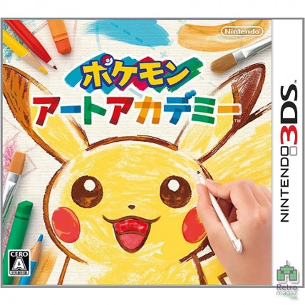Игры Nintendo 3DS -  Pokemon Art Academy Nintendo 3DS