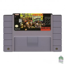 Donkey Kong Country 2 Diddy's Kong Quest SNES PAL Оригiнал Б/У - інтернет магазин Retromagaz