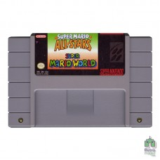 Super Mario All-Stars SNES PAL Оригинал Б/У - интернет магазин Retromagaz
