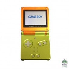 Game Boy Advance SP | 001 Lime/Orange limited edition | Зарядное Устройство | Б/У