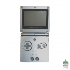 Game Boy Advance SP - 101 iQue | Яркий Экран Серебристый | Зарядная страция | Б/У