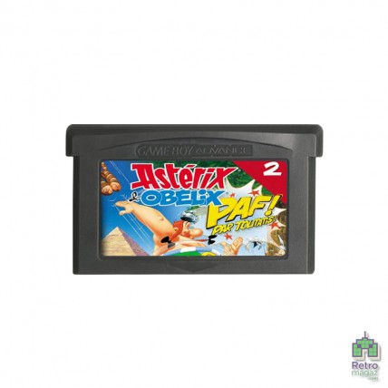 Игры GameBoy Advance Ориг - Asterix & Obelix PAF! (Bash Them All!) | Nintendo GameBoy Advance (Тільки картридж) Оригінал Б/У