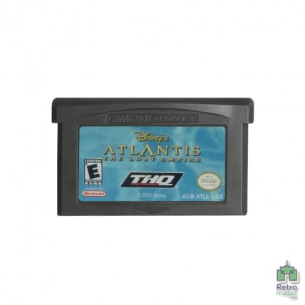 Atlantis The Lost Empire | Nintendo GameBoy Advance (Тільки картридж) Копія Б/У
