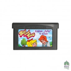 Bibi and Tina Holidays on Martinshof | Nintendo GameBoy Advance (Только картридж) Оригинал Б/У