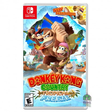 Игры Nintendo Switch - Donkey Kong Country Tropical Freeze Б/У Nintendo Switch