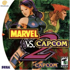 Sega Dreamcast Marvel vs Capcom 2 (E) Оригинал Б\У - интернет магазин Retromagaz