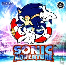 Sega Dreamcast Sonic Adventure (E) Оригинал Б\У - интернет магазин Retromagaz