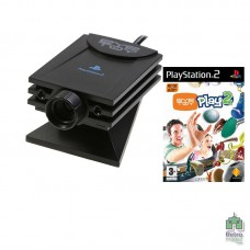 Камера EyeToy PlayStation 2 + Игра EyeToy Play 2 Б/У оригинал - интернет магазин Retromagaz
