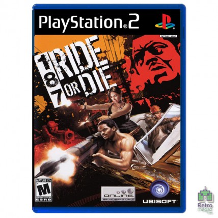 Игры PlayStation 2 Оригинал - 187 Ride or Die (E) оригінал PS2 Б/У