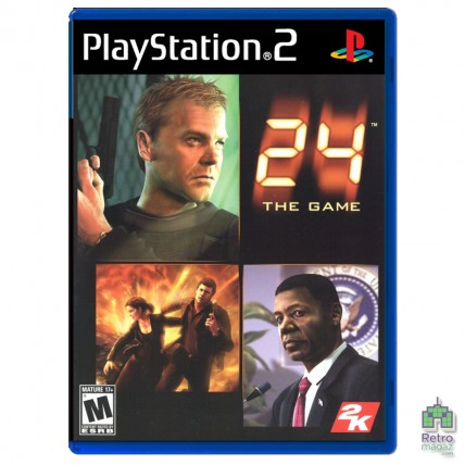 Игры PlayStation 2 Оригинал - 24 The Game (PAL) |PS2 |оригинал |Б/У