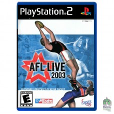 AFL Live 2003 (PAL) | PS2 | оригинал | Б/У - интернет магазин Retromagaz