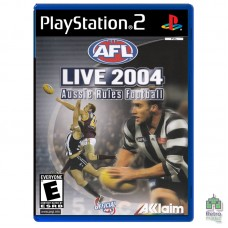 AFL Live 2004 Aussie Rules Footbal (PAL) |PS2| оригинал |Б/У - интернет магазин Retromagaz