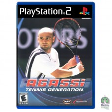 Agassi Tennis Generation (PAL)| PS2| оригинал| Б/У - интернет магазин Retromagaz