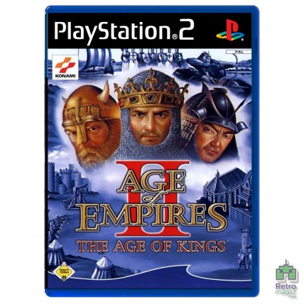Ігри PlayStation 2 Оригинал - Age of Empires 2: The Age of Kings (E) оригінал PS2 Б/У