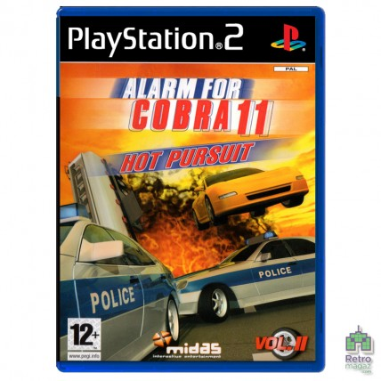 Alarm For Cobra 11 Hot Pursuit (PAL)| PS2| оригинал| Б/У
