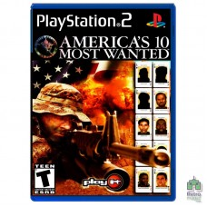 America's 10 Most Wanted (PAL)| PS2 |оригинал |Б/У