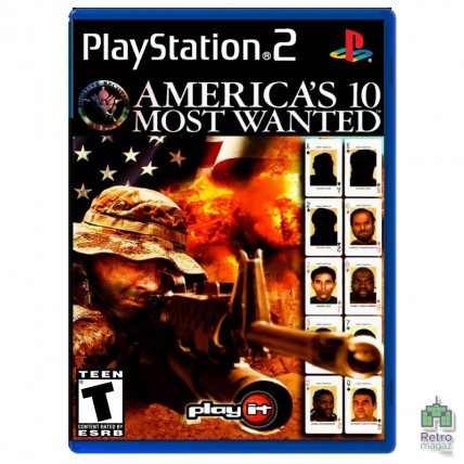 Игры PlayStation 2 Оригинал - America's 10 Most Wanted (PAL)| PS2 |оригинал |Б/У
