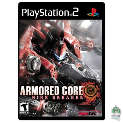 Игры PlayStation 2 Копия - Armored core Mine Breaker PS2 Б/У