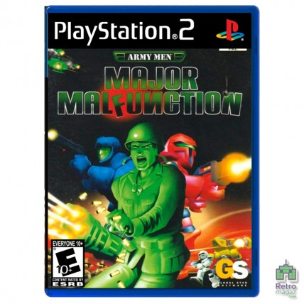 Игры PlayStation 2 Оригинал - Army Men Major Malfunction (PAL)| PS2| оригинал| Б/У