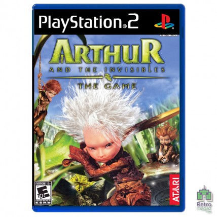 Игры PlayStation 2 Оригинал - Arthur and the Invisibles (PAL) |PS2|оригинал| Б/У