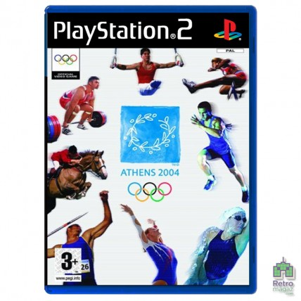Athens 2004 Olympic Games (PAL) | PS2| оригинал | Б/У (Уценка)